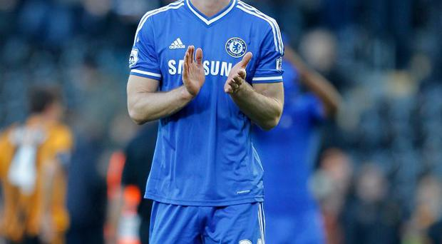 Gary Cahill made two of Chelsea's goals against Manchester United