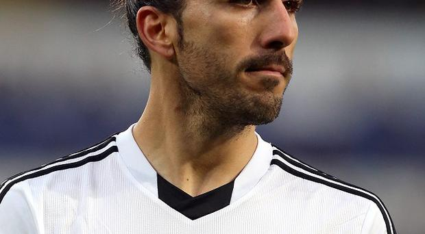 Swansea confirmed Chico Flores, pictured, and Garry Monk 'had an exchange of words' during training