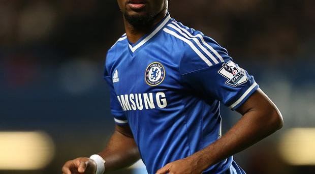 Chelsea's Samuel Eto'o is enjoying life at Stamford Bridge