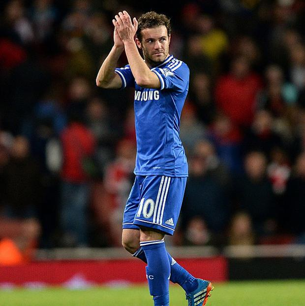 Juan Mata is set to have a medical at Manchester United