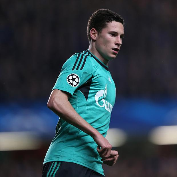 Julian Draxler is a reported target for Arsenal