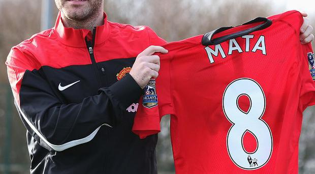 Juan Mata has moved to Old Trafford from Chelsea for £37.1million