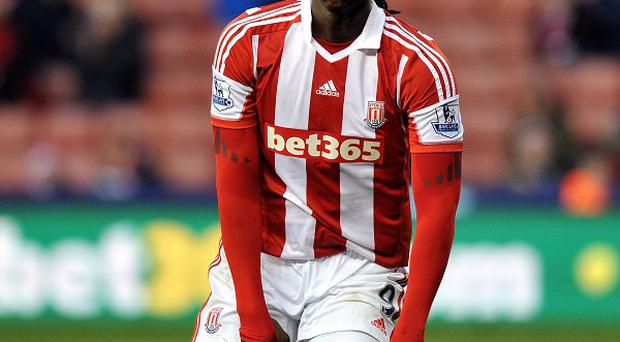 Peter Coates is satisfied with the deal which will see Kenwyne Jones, pictured, leave Stoke