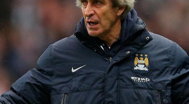 Manchester City manager Manuel Pellegrini could lead his side to four trophies this season