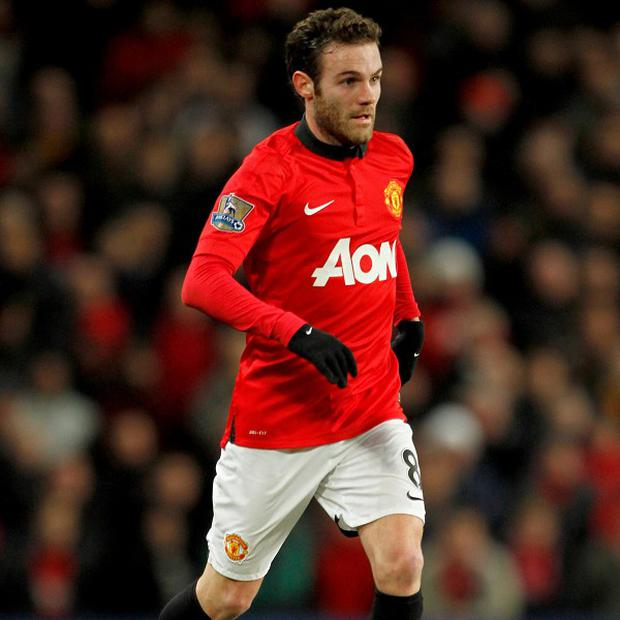 Manchester United's Juan Mata has impressed team-mate Ashley Young
