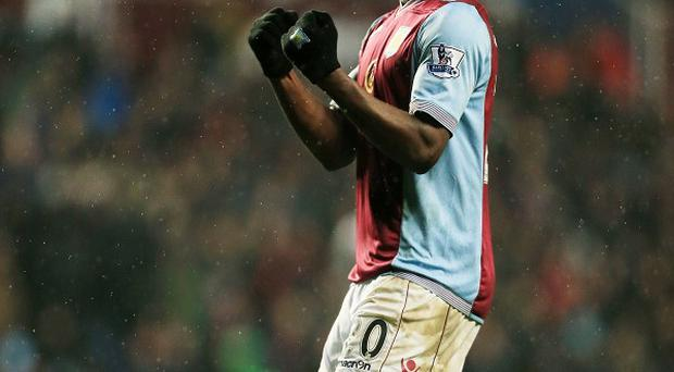 Christian Benteke has hit form in recent matches