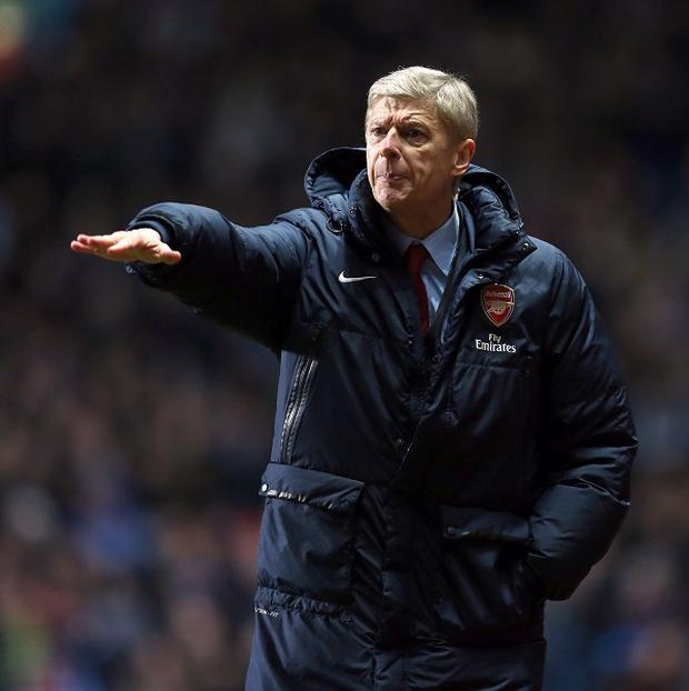 Arsene Wenger believes City had luck on their side when they beat Tottenham