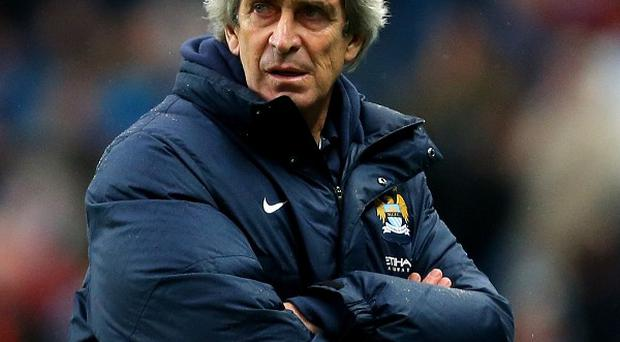 Manuel Pellegrini, pictured, said he will not rise to any mind games from Jose Mourinho