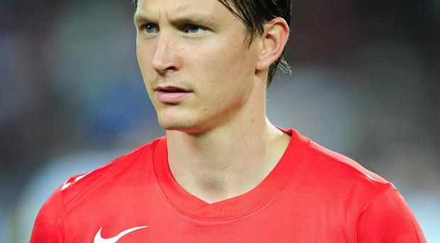 Kim Kallstrom is on loan at Arsenal unitl the end of the season