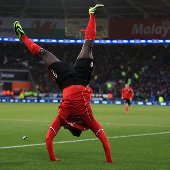 Kenwyne Jones gave Cardiff the lead against Norwich
