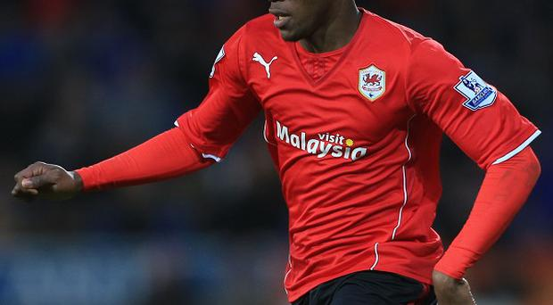 Wilfried Zaha impressed on his Cardiff debut