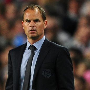Frank de Boer is open to a Premier League move