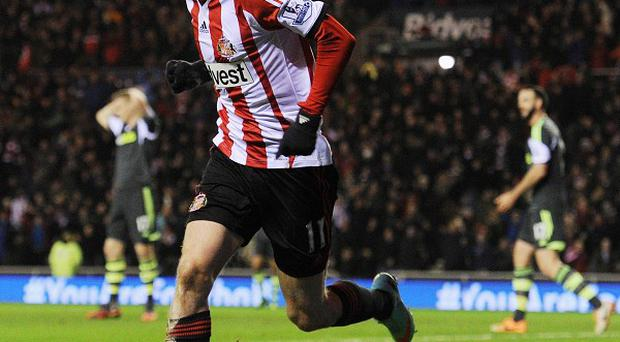 Adam Johnson was the Premier League's stand-out player in January