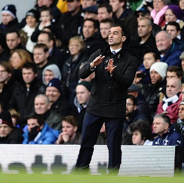 Everton manager Roberto Martinez has big plans for the club