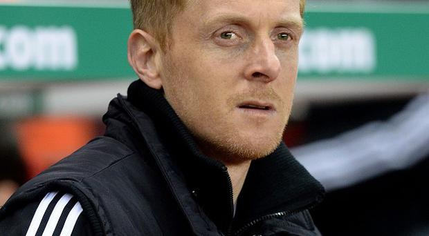 Swansea City manager Garry Monk has accussed Kim Bo-kyung of attacking Wayne Routledge