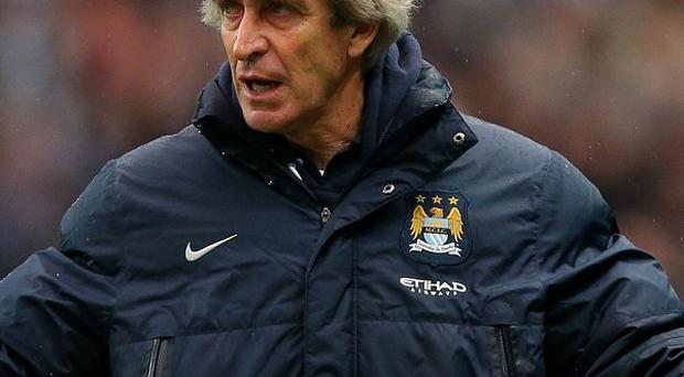 Manuel Pellegrini is preparing his side to face Barcelona
