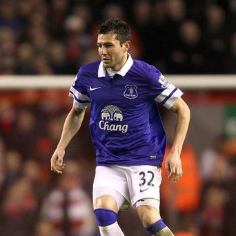 Antolin Alcaraz is fit again for Everton