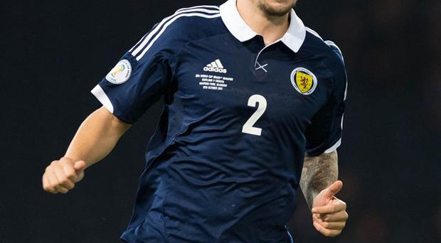 Alan Hutton has still been appearing for Scotland despite being frozen out at his club