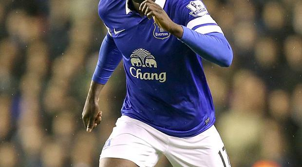 Romelu Lukaku has been sidelined with an ankle injury but is fit to face West Ham