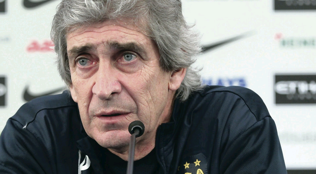 Final chapter: Manuel Pellegrini addresses the media at Carrington Training Ground