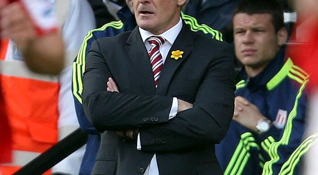 Mark Hughes felt Stoke were unlucky to only draw with Norwich