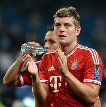 Bayern Munich's Toni Kroos is open to a move to England