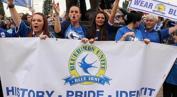 Cardiff fans plan to protest before and during their home match against Liverpool