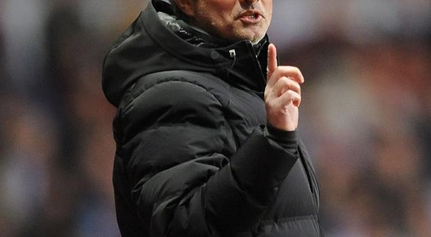 Jose Mourinho was sent off in the latter stages of Chelsea's defeat to Aston Villa