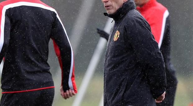 David Moyes expects to remain as Manchester United boss.