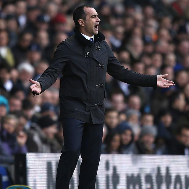 Roberto Martinez hopes Everton can finish in the European places