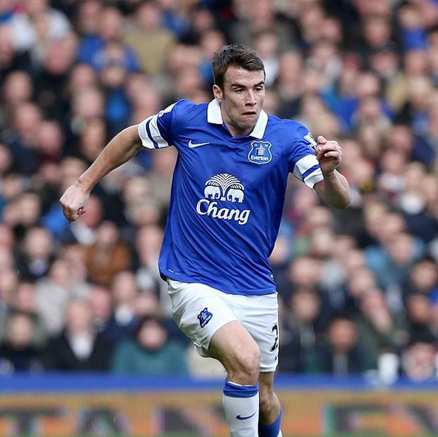 Everton boss Roberto Martinez insists that Seamus Coleman, pictured, won't be sold