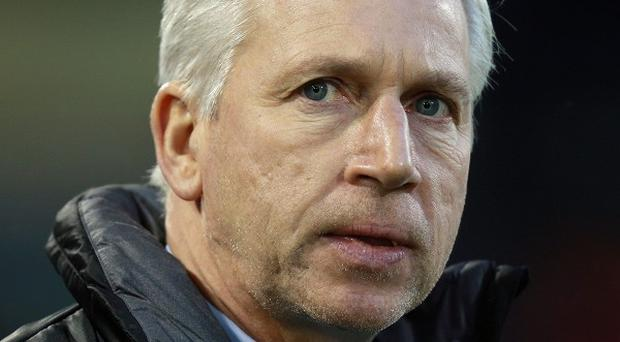 Alan Pardew, pictured, wants other players to step up in the absence of Loic Remy