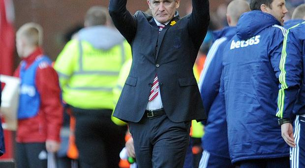 Mark Hughes' Stoke side have lost only once in their last seven matches