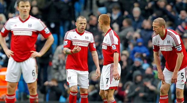 Brede Hangeland, right, wants Fulham to move on from their 5-0 thrashing