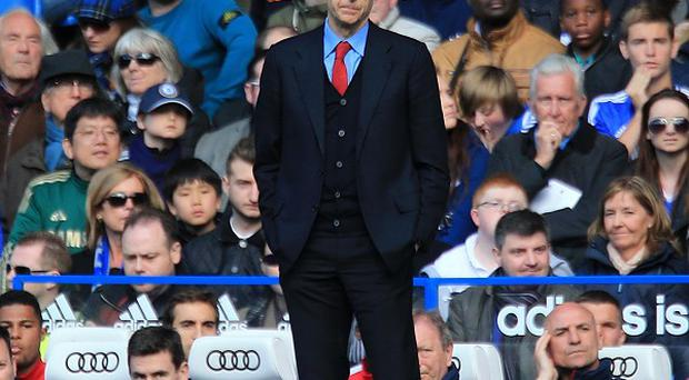 Arsenal manager Arsene Wenger watched his side thrashed 6-0 at Chelsea on Saturday
