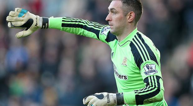 Allan McGregor suffered damage to his kidneys at West ham