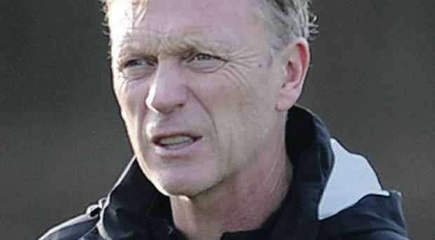 Manchester United manager David Moyes has lost a lot backing from the fans