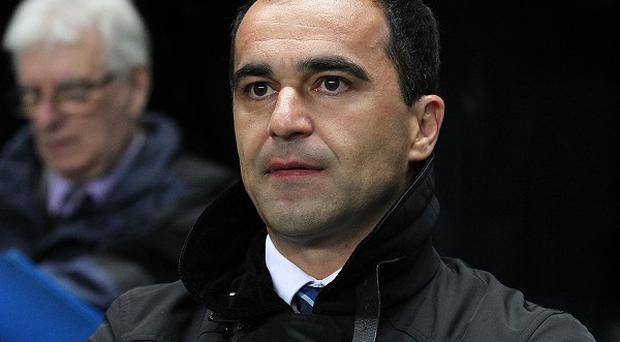 Roberto Martinez is concentrating only on Everton in the race for fourth spot