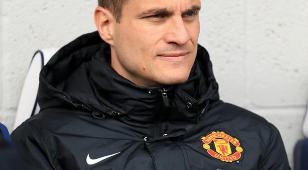 Nemanja Vidic has served his suspension for his red card against Liverpool