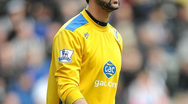 Goalkeeper Julian Speroni wants to stay at Crystal Palace