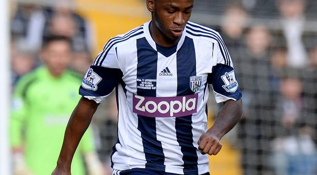 Saido Berahino, pictured, has a role to play at West Brom, according to manager Pepe Mel