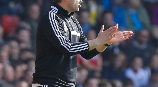 Southampton manager Mauricio Pochettino, pictured, wants to throw a spanner in the works of Man City's title bid