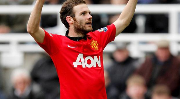 Juan Mata's brace helped United secure a 4-0 win