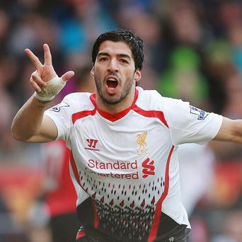 Luis Suarez has been in fine form this season