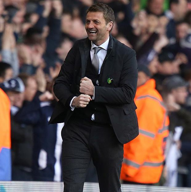 Tim Sherwood insists it is business as usual at Tottenham