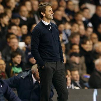 Tim Sherwood wants to end his spell as Spurs boss on a high