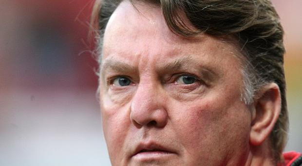 Holland coach Louis van Gaal has been linked with Manchester United