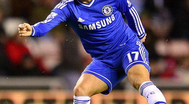 Chelsea hope to have star playmaker Eden Hazard, pictured, available soon