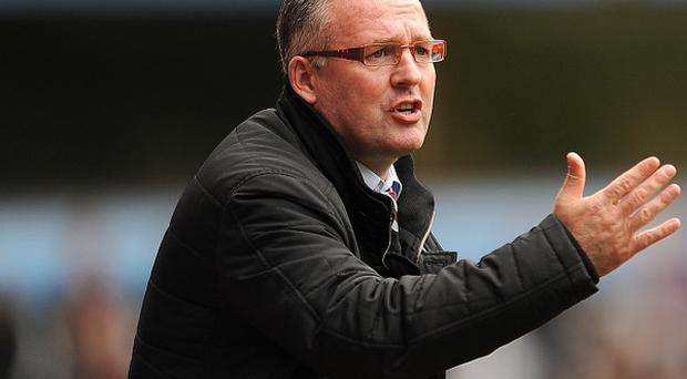Aston Villa boss Paul Lambert is feeling the pressure after four consecutive defeats