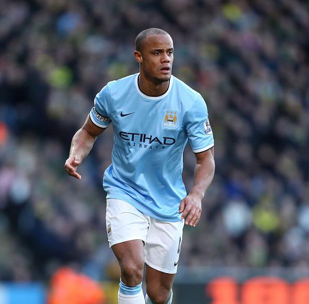 Manchester City captain Vincent Kompany was declared fit to face Liverpool and manager Manuel Pellegrini has no regrets
